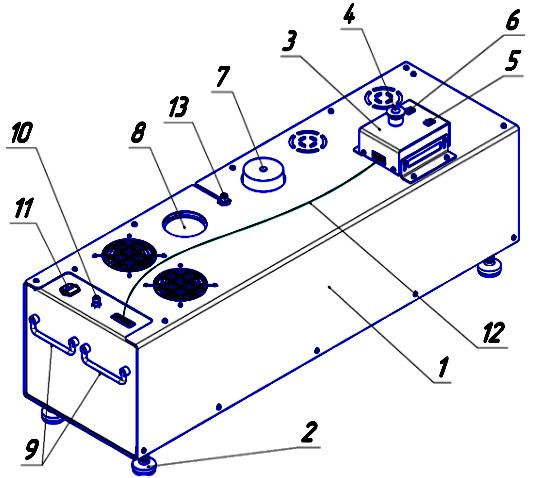 Схема. Усилитель давления К-450