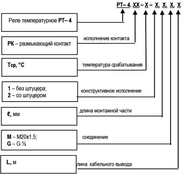 Реле температурное РТ-5