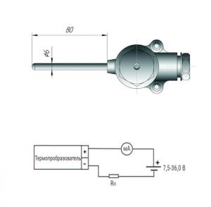 Датчик ТПП-420-Кл3 размеры и схема подключения