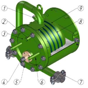Схема. Счетчик жидкости ЭМИС-МЕРА-300/ЭМ300