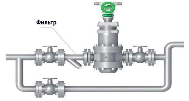 Схема. Фильтр ЭИС-ВЕКТА-1210