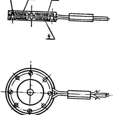 Малогабаритный индуктивный датчик давления ДМИ-1,-II
