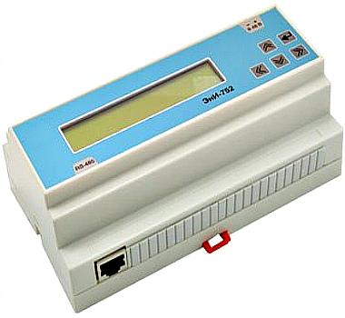 Индикатор оператора с клавиатурой ЭнИ-752-RS для ПЛК