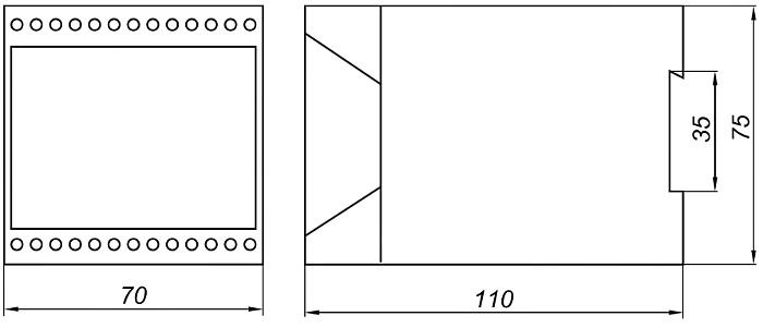 Схема. Блоки питания корунд-БПД-2к,-4к,-8кл