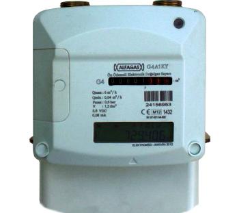 Счетчик газа ELEKTROMED/ALFAGAS со смарт-картой
