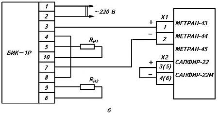Схема. Блок извлечения корня БИК-1Р, -1РИ