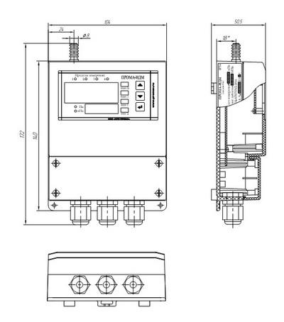 Измеритель давления ИДМ-016-Н
