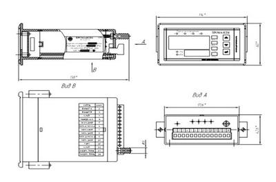 Измеритель давления ИДМ-016-Щ