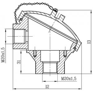 Коммутационная головка А1 для ТС Метран-2000