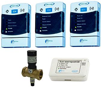 Система автоматического контроля загазованности САКЗ-МК-1,-2,-3