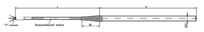 Термометр сопротивления ТС726А