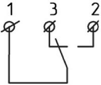 Схема внешних подключений реле потока LKB-01B