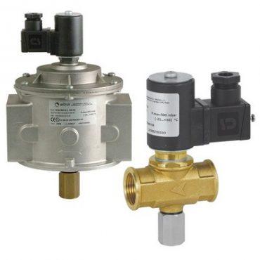 Электромагнитный газовый клапан EVGNC-0LDN15...200, нормально-закрытый (НЗ)