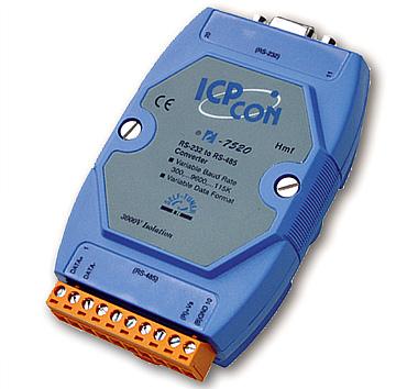 Повторитель I-7510, преобразователь I-7520, конвертер I-7561 интерфейса