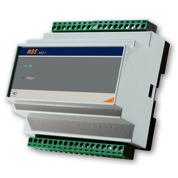 Комбинированный модуль ввода-вывода аналоговых и дискретных сигналов MDS-AIO-1