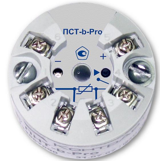 Нормирующий преобразователь сигналов термосопротивлений ПСТ-х-100М/100П/Pt100, ПСТ-a/b-Pro-M0/M1 (программируемый)