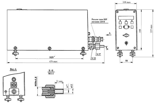 ИПДЦ-89018-01 комплекс для измерения давления цифровой