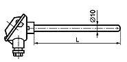 ТП 008 тип B общепромышленного исполнения без крепления