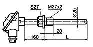 ТП 008 тип E общепромышленного исполнения с приварным штуцером