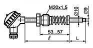 ТП 008 тип I для измерения температуры поверхности твердых тел