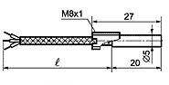 ТП 008 тип M для измерения температуры малогабаритных подшипников