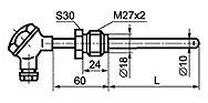 ТП 008 тип N термопреобразователи виброустойчивого исполнения
