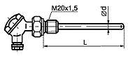 ТС012-F Общепромышленного исполнения с приварным штуцером