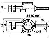 ТС-012J для измерения температуры помещений