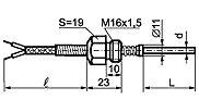 ТС-012L для измерения температуры в резиносмесителях и термопластавтоматах
