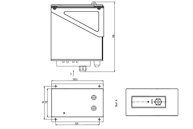 Габариты. Блоки питания МИДА-БП-104-2К/4К, -104Р-2К/4К