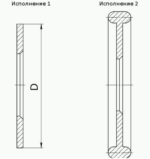 Диафрагмы камерные ДФС-10-Б-1 (исполнение 1) и ДФС10-Б-2 (исполнение 2)