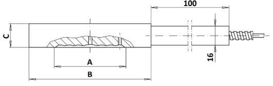 Мембранный разделитель сред DM-WI/CI Ду40...125 размеры
