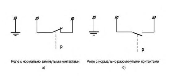 Принципиальная электрическая схема реле РД-314