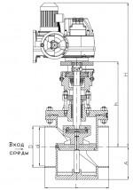 Регулирующие дисковые клапаны РК-109 Ду80-500мм