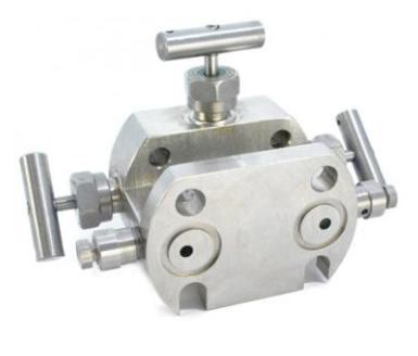 Блок клапанный БКН3-4 (3-вентильный)