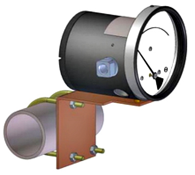 Взрывозащищённый дифманометр ЭКД-160АН/100АН-10/20М-Exd