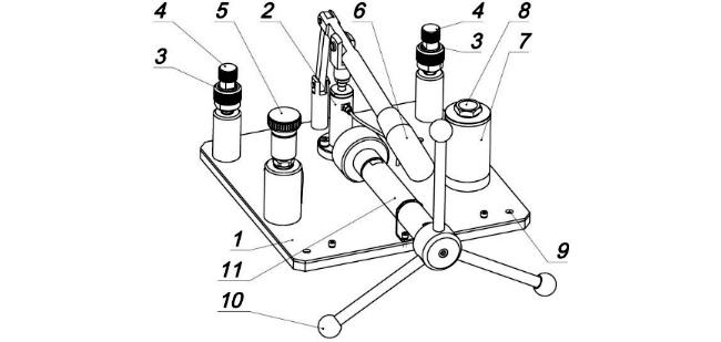Схема. Система СПГ-700, СПГ-700М