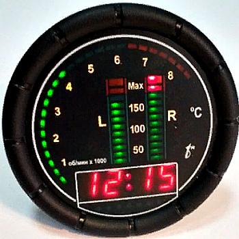 Цифровой индикатор температуры двигателя ЦИТД-3,-5,-6