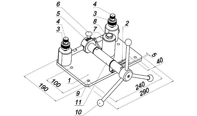 Схема. Пресс ПГ-700 и ПГ7000 с УТР