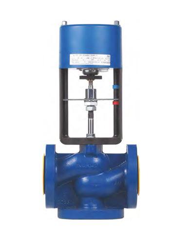 Клапан смесительный трехходовой КССР-100