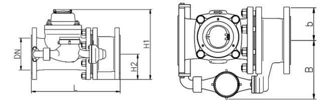 WPV-N(T)-20 счетчик воды комбинированный