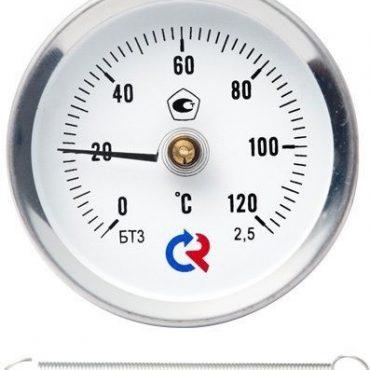 """Термометр ТБ-30.010 трубный накладной """"с пружиной"""""""