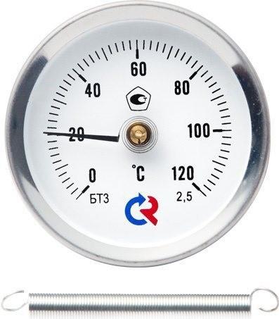 Термометр ТБ-30.010 трубный накладной «с пружиной»