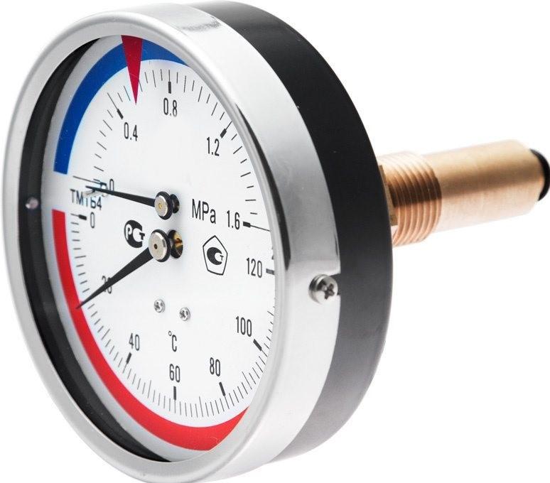 Термоманометр ТМТБ-31Т,-41Т осевой