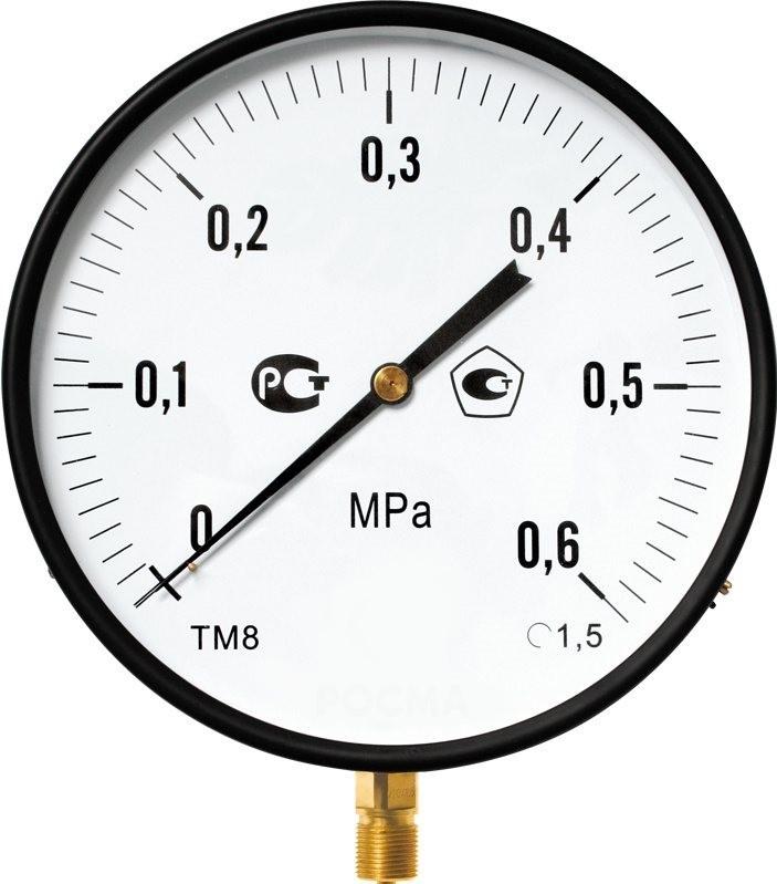 Манометр ТМ-810Р.00 котловой