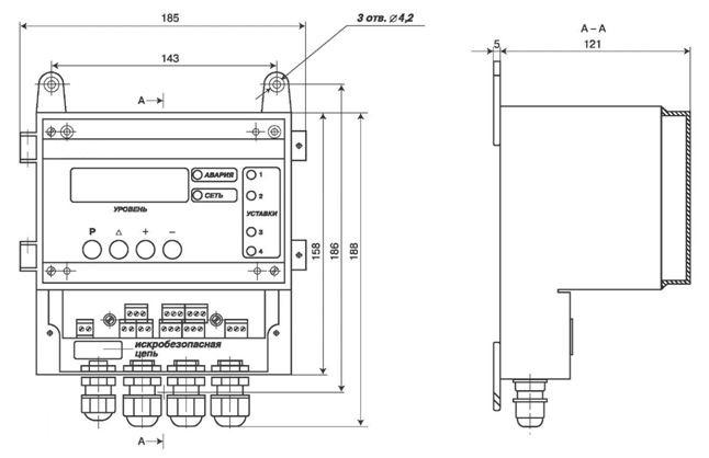 Передающий преобразователь (ППР) РИС-101М1