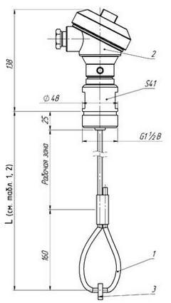 Габаритные размеры ПП РИС-101СКБ-092/092И/096/096И