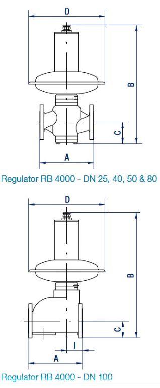 Регулятор RB 4000 без ПЗК