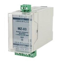 МZ-03 модуль сетевого фильтра и защиты от ЭМП