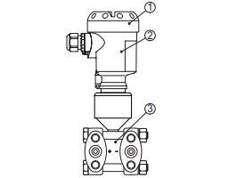 Устройство базового исполнения датчика DPT-10